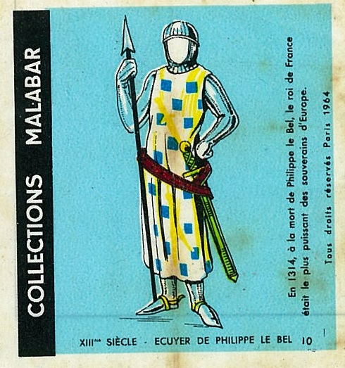 n°10 - Collection Malabar / Costumes Militaires