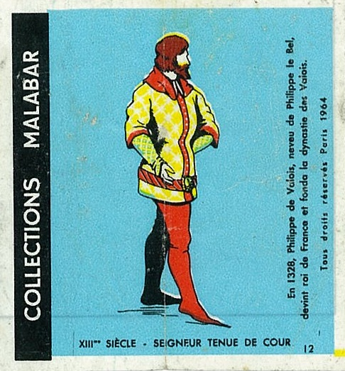 n°12 - Collection Malabar / Costumes Militaires