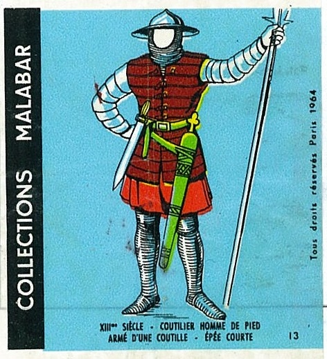 n°13 - Collection Malabar / Costumes Militaires