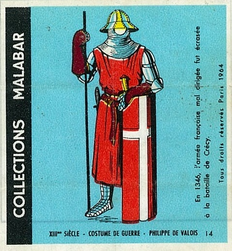 n°14 - Collection Malabar / Costumes Militaires