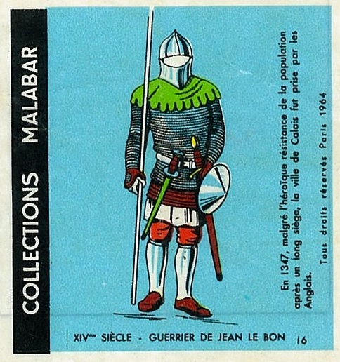 n°16 - Collection Malabar / Costumes Militaires
