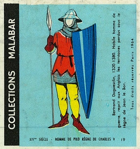 n°19 - Collection Malabar / Costumes Militaires