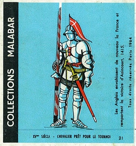 n°21 - Collection Malabar / Costumes Militaires