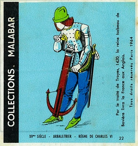 n°22 - Collection Malabar / Costumes Militaires