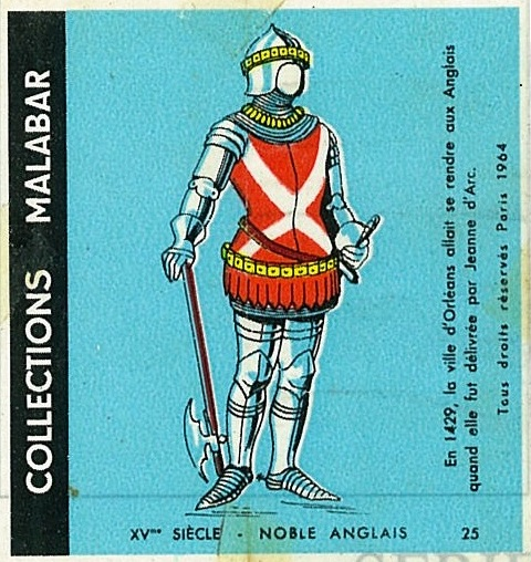 n°25 - Collection Malabar / Costumes Militaires