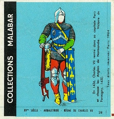 n°28 - Collection Malabar / Costumes Militaires
