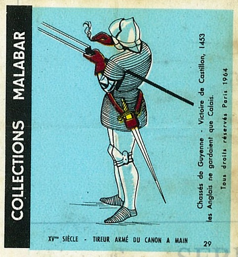 n°29 - Collection Malabar / Costumes Militaires