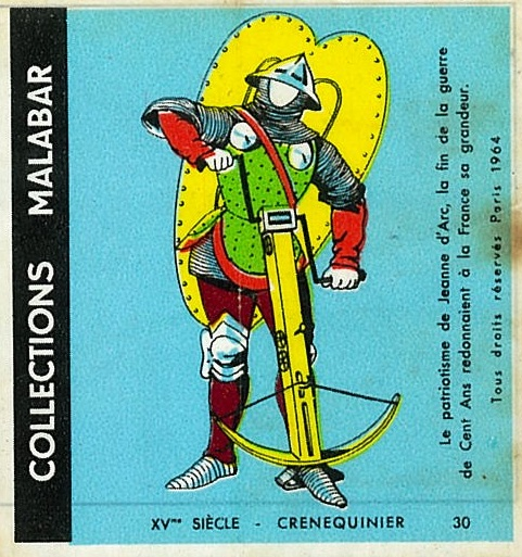 n°30 - Collection Malabar / Costumes Militaires
