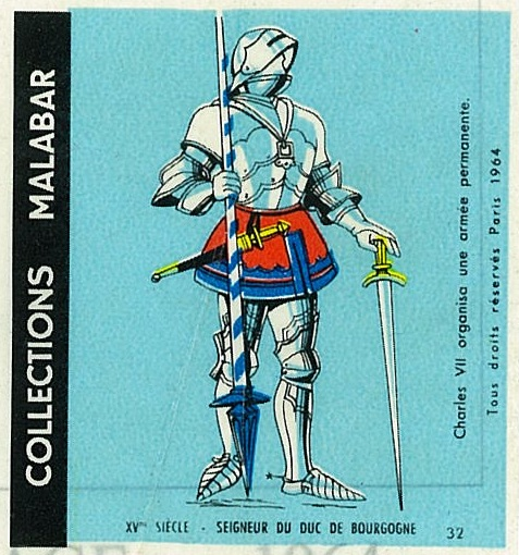 n°32 - Collection Malabar / Costumes Militaires