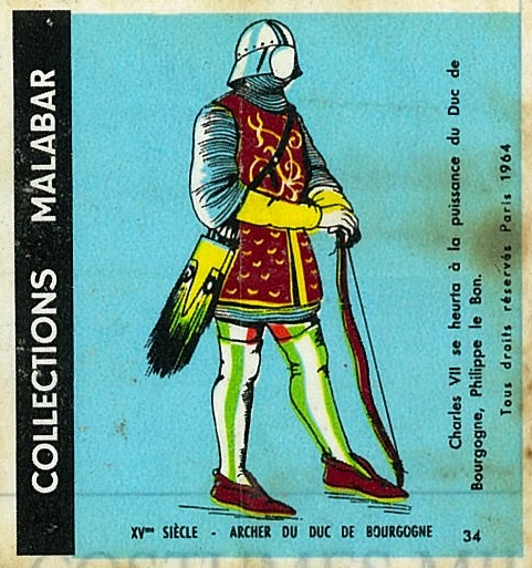n°34 - Collection Malabar / Costumes Militaires