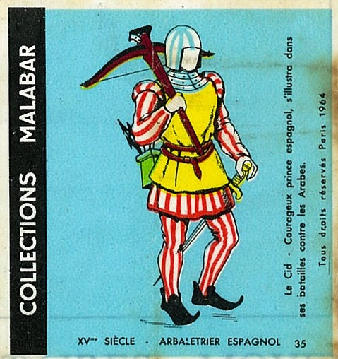 n°35 - Collection Malabar / Costumes Militaires