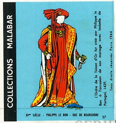n°37 - Collection Malabar / Costumes Militaires