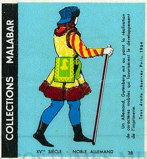 n°38 - Collection Malabar / Costumes Militaires