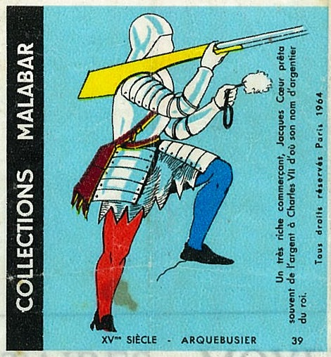 n°39 - Collection Malabar / Costumes Militaires