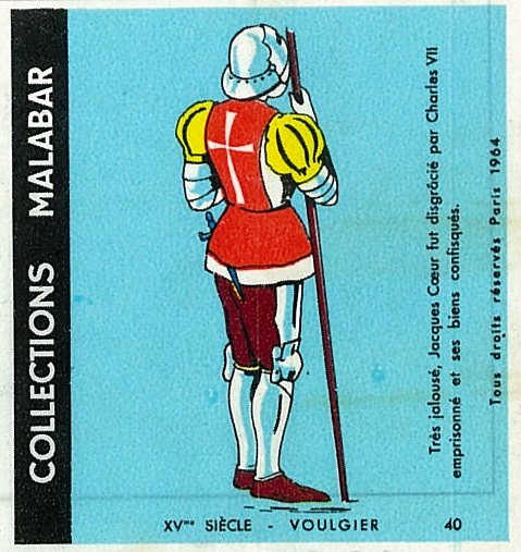 n°40 - Collection Malabar / Costumes Militaires