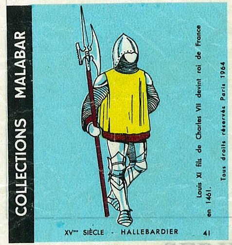 n°41 - Collection Malabar / Costumes Militaires