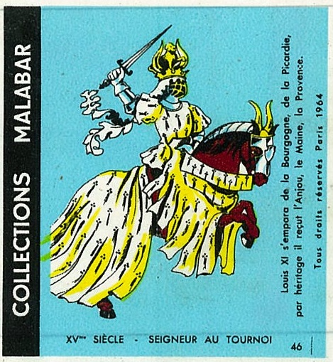 n°46 - Collection Malabar / Costumes Militaires