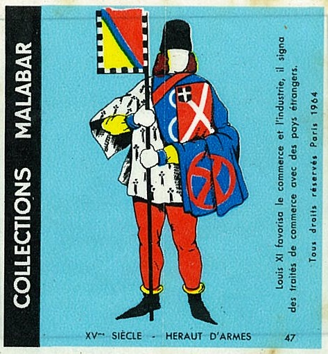 n°47 - Collection Malabar / Costumes Militaires