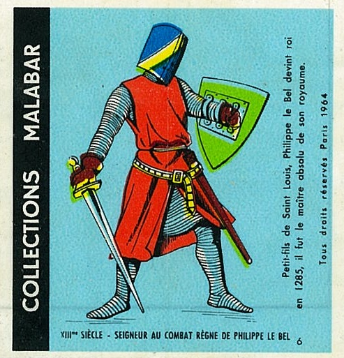 n°6 - Collection Malabar / Costumes Militaires