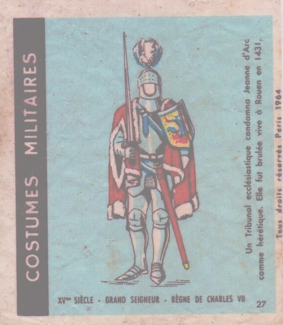 n°27 - Collection Malabar / Costumes Militaires