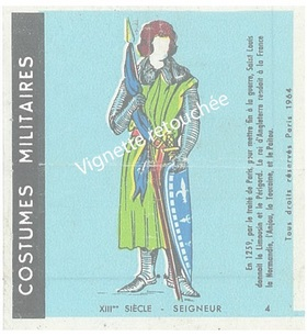 n°4 - Collection Malabar / Costumes Militaires
