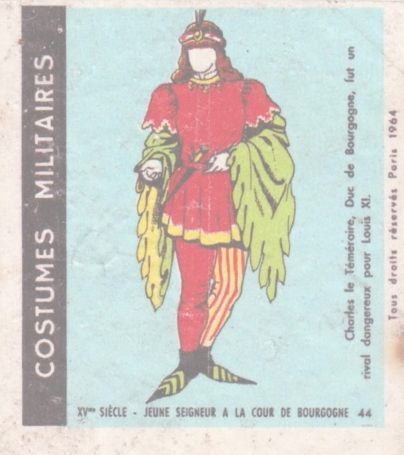 n°44 - Collection Malabar / Costumes Militaires