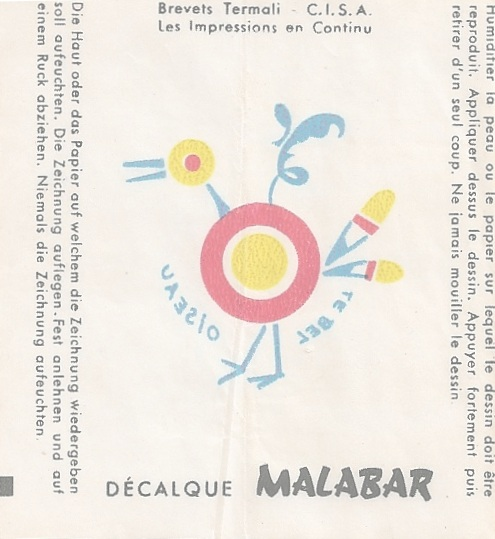 n°2- Decalque 1 - Jean LE MOING