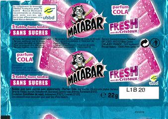 Emballage Malabar 2011 : Pocket Fresh Cola